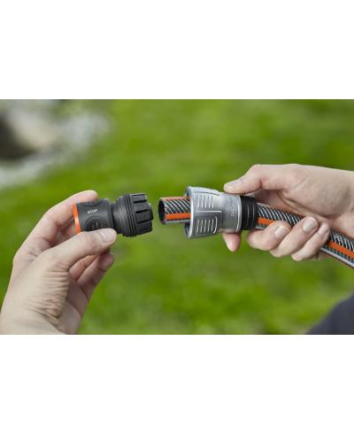 З'єднувач з автостопом Gardena Premium для шланга 19 мм (18254-20)