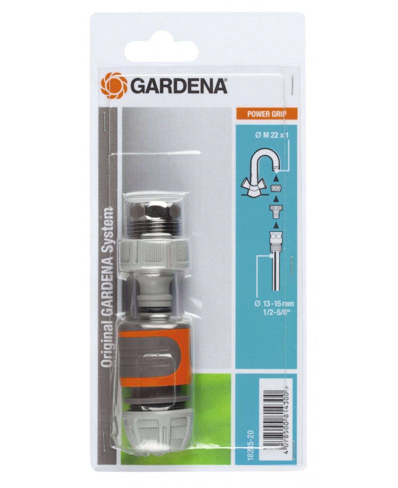 Набір підключення Gardena до крана М 22 х 1 (18285-20)