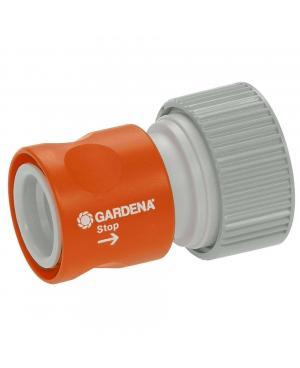 Коннектор с автостопом Gardena Profi System 19 мм 3/4 (02814-20)