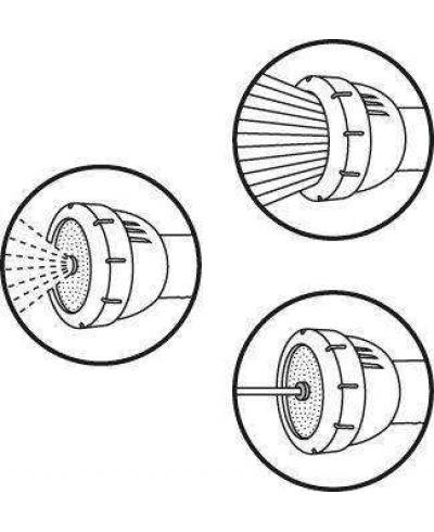 Наконечник Gardena Profi System 2-в-1 19 мм 3/4 (02847-20)