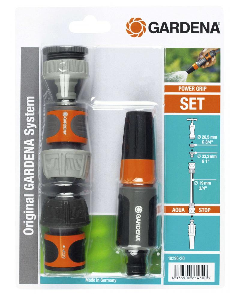 Наконечник Gardena Classic з набором для підключення 19 мм 3/4 (18296-20)