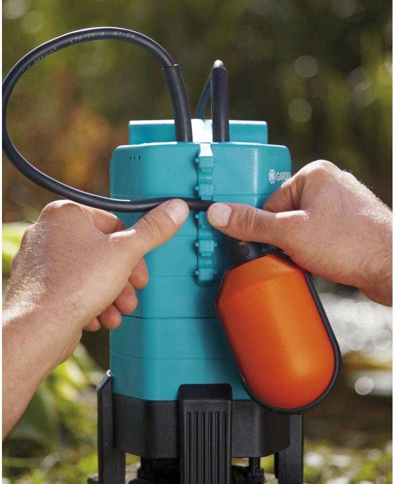 Насос дренажний для брудної води Gardena 7500 Classic (01795-20)