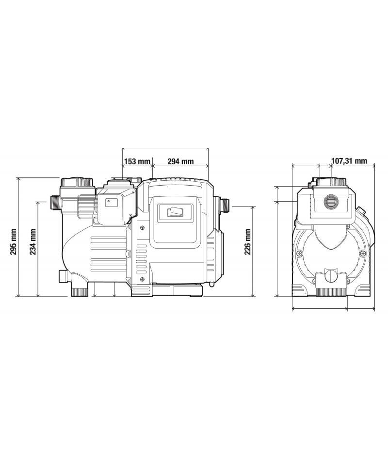 Насос напірний автоматичний Gardena Classic 3500/4E Automatic (01757-20)