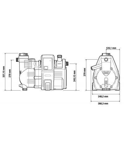 Насос напірний автоматичний Gardena  Comfort 4000/5E Automatic (01758-20)