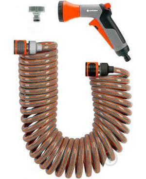 Шланг спиральный Gardena с набором для полива (04646-20)