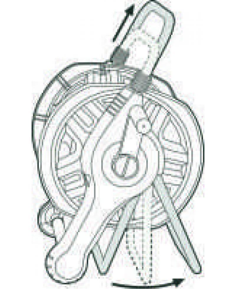 Котушка для шланга Gardena Classic 40 Set з комплектом для поливу (02691-20)