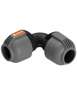Соединитель L-образный Gardena Quick & Easy 25 мм (02773-20)