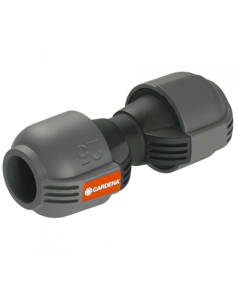 З'єднувач Gardena Quick & Easy 25 мм для нарощування шланга (02775-20)