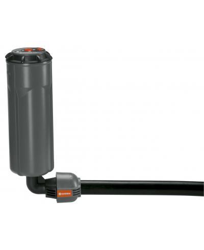 З'єднувач L-подібний Gardena Quick & Easy з зовнішньою різьбою 25 мм х 1/2 (02780-20)