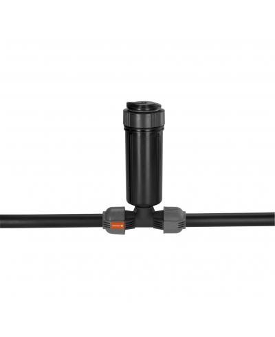 З'єднувач T-подібний Gardena Quick & Easy з зовнішньою різьбою 25 мм х 3/4 (02787-20)