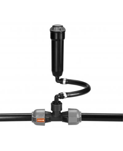 З'єднувач T-подібний Gardena Quick & Easy 32 мм з внутрішньою різьбою 3/4 (02791-20)