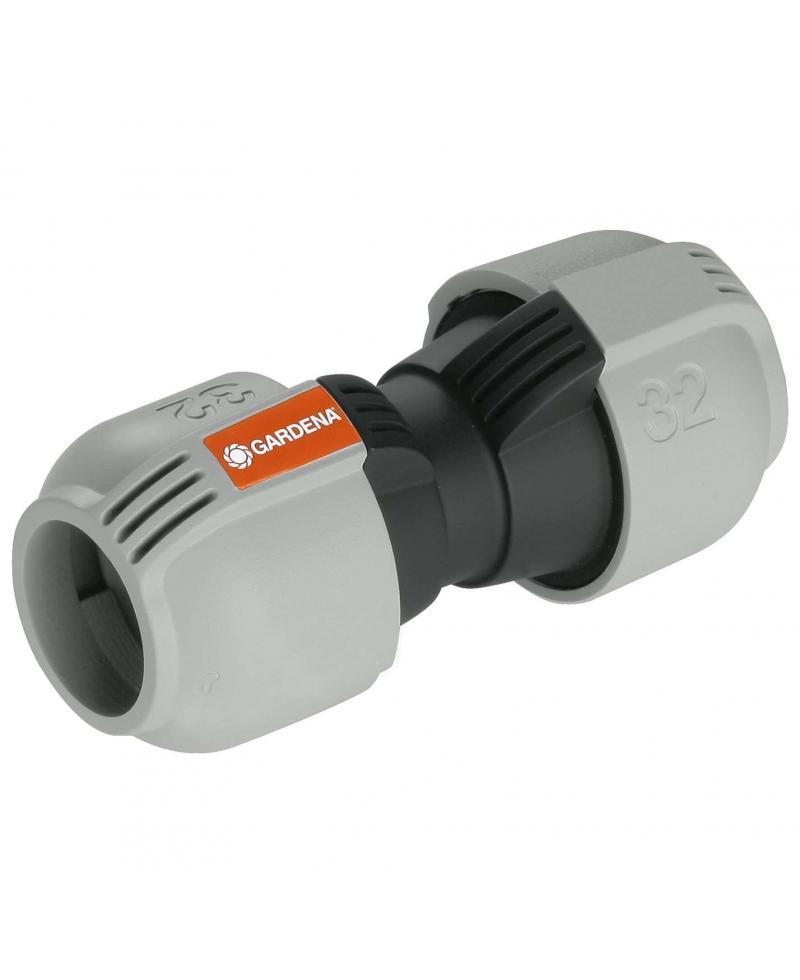 З'єднувач Gardena Quick & Easy 32 мм для нарощування шланга (02776-20)