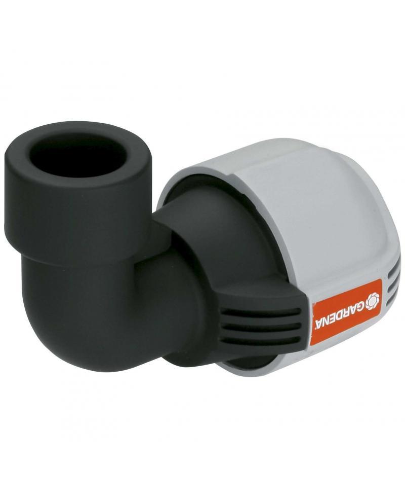 З'єднувач L-подібний Gardena Quick & Easy з внутрішньою різьбою 32 мм х 3/4 (02785-20)