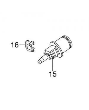 Штуцер 4,6 мм для микрокапельной системы Gardena (08313-00.620.00)