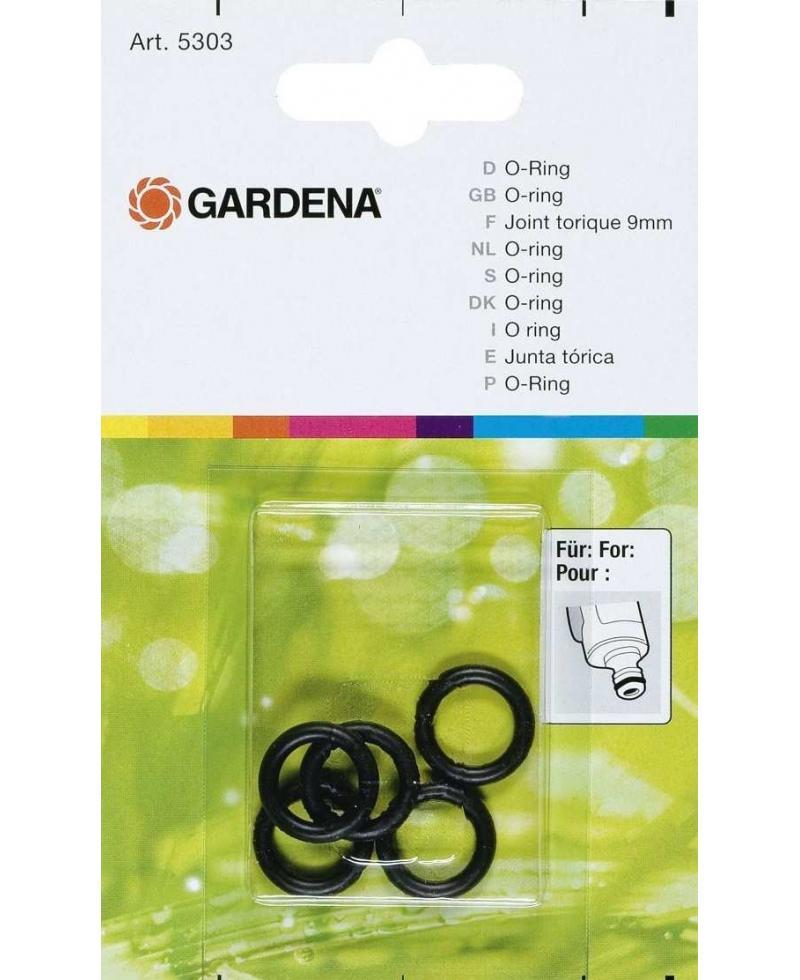 Уплотнительное кольцо Gardena 9 мм 5 шт (05303-20)