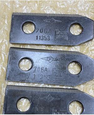 Ножи 4 шт с креплением для Gardena HE 36, HE 40, HB 40 (04099-00.701.00)