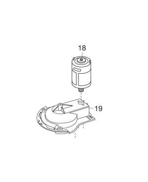 Электродвигатель для аккумуляторных ножниц Gardena (08805-00.750.00)