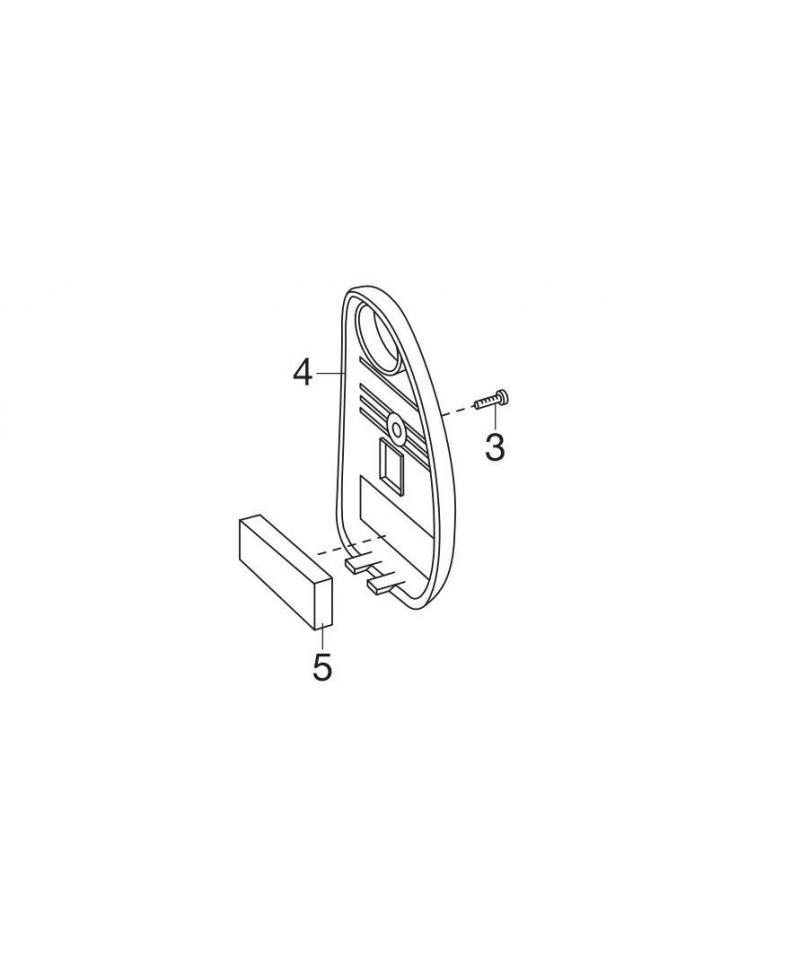 Крышка аккумулятора для ножниц Gardena (08804-00.800.46)