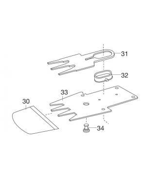 Нож для травы для аккумуляторных ножниц Gardena (02346-00.610.00)