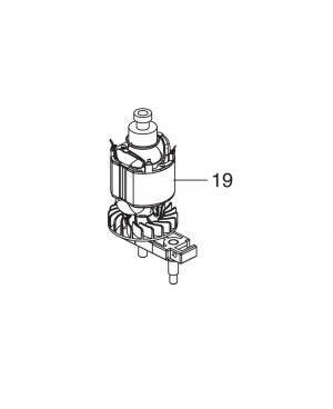 Электродвигатель в комплекте с редуктором для кустореза Gardena EasyCut 420/45 (09830-00.620.00)