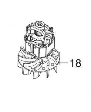 Електродвигун для пилососа/повітродувки Gardena ErgoJet 2500, 3000 виробництва до 2016 року (09332-00.900.05)