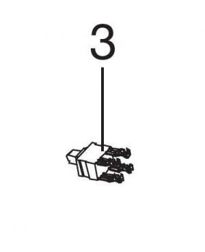 Мікровимикач для пилососа/повітродувки Gardena ErgoJet 3000 (09332-00.900.02)
