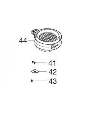 Защитная крышка крыльчатки для пылесоса/воздуходувки Gardena ErgoJet 2500, 3000 (09332-00.901.00)