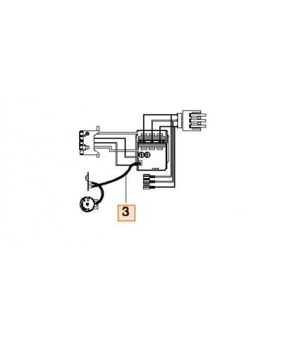 Плата управления для пылесоса/воздуходувки Gardena PowerJet Li-40/60 (09338-00.620.00)