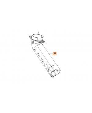 Верхняя часть трубы для пылесоса/воздуходувки Gardena PowerJet Li-40/60 (09338-00.630.02)