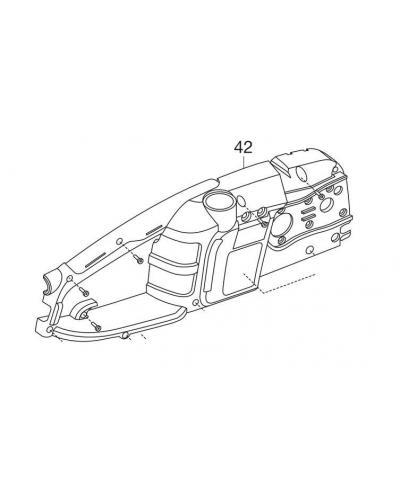 Корпус R для электропил Gardena CST 3518, 3519-X (62557-42.743.01)