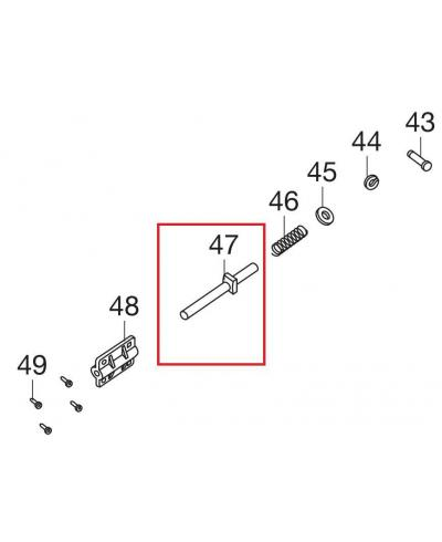 Шток для электропил Gardena CST 3518, 3519-X (62557-42.760.01)
