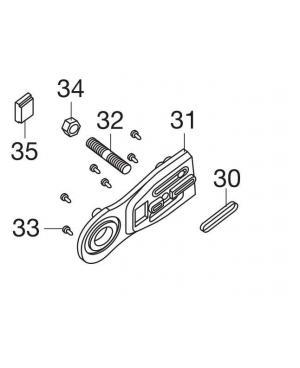 Вставка шины для электропил Gardena CST 3518 (62557-42.753.01)