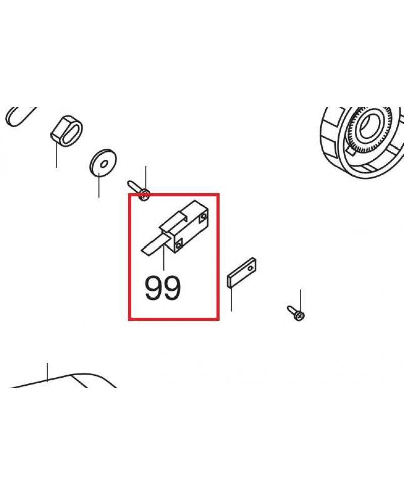 Выключатель для электропил Gardena CST 3518, 3519-X (62557-42.783.01)