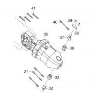 Электродвигатель для электропилы Gardena CSI 4020-X (62557-42.827.01)