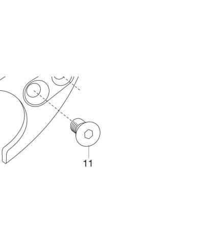 Винт M5x8 для секатора Gardena BP 50 Premium, BP 30 Premium (08701-00.600.25)