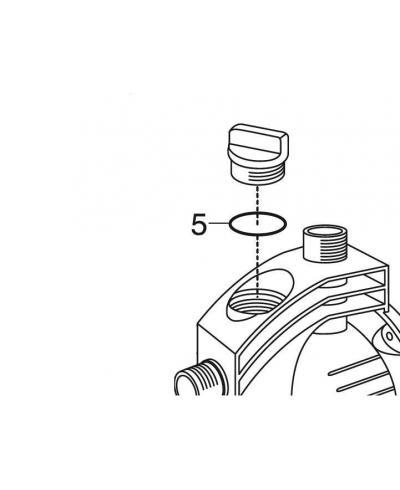 Кольцо уплотнительное Gardena 29х3.1 (01707-00.900.03)