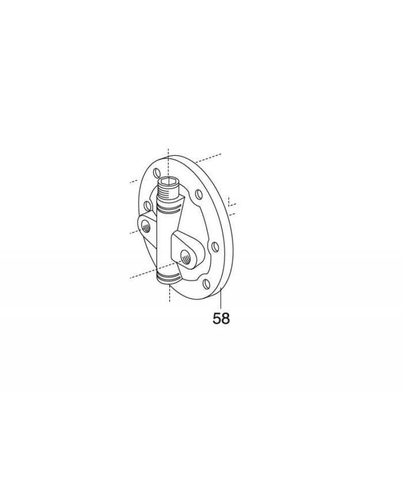 Крышка ресивера насосной станции Gardena Classic 3000 (01751-00.900.14)