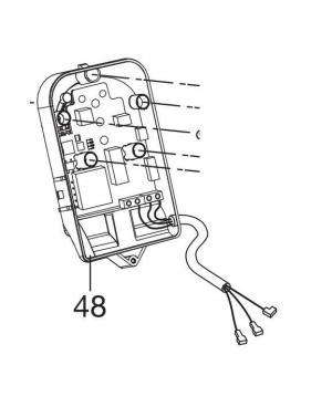 Плата управления насоса Gardena Comfort 4000/5E Automatic (01758-00.900.14)