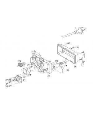 Электрический манометрический выключатель для насосной станции Gardena Comfort 5000/5, Premium 5000/5 Inox (01775-00.900.03)