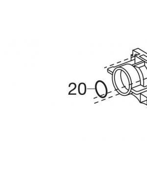 Кольцо уплотнительное O-Ring 15,47x3,53 для насосных станций Gardena (01481-00.900.17)