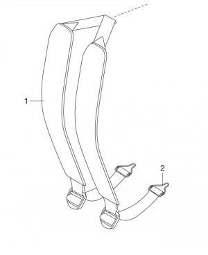 Ремень Gardena для ранцевого опрыскивателя 12 л (00884-00.900.01)