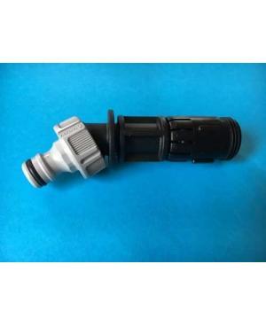 Трубка кутова зі штуцером для візка Gardena (02684-00.760.00)