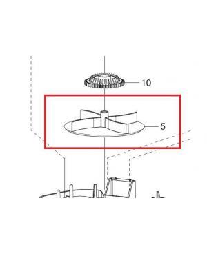 Крыльчатка для разбрасывателя-сеялки Gardena M 431-20 (00431-00.600.16)