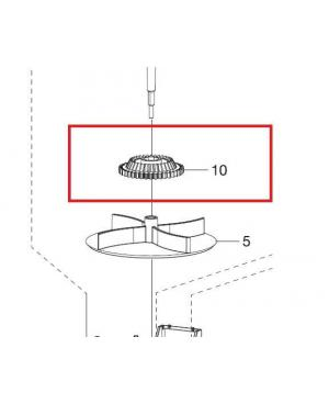 Шестерня ведена для разбрасывателя-сеялки Gardena M 431-20 (00431-00.600.41)