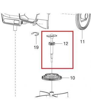 Вал приводной для разбрасывателя-сеялки Gardena M 431-20 (00431-00.600.51)