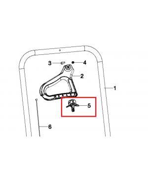 Фиксатор для разбрасывателя-сеялки Gardena XL 436-20 (00436-00.600.07)