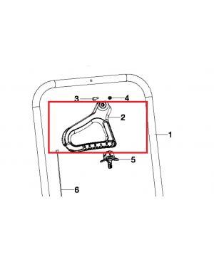 Ручка для разбрасывателя-сеялки Gardena XL 436-20 (00436-00.600.02)