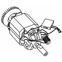 Электродвигатель для турботриммера Gardena ProCut 1000 (08852-00)