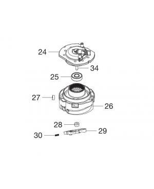 Корпус тримерної котушки для Gardena SmallCut 300 Accu (08844-00.900.02)