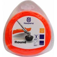 Леска для мотокос/триммеров Husqvarna 2.4мм х 90м круглая, оранжевая (5784375-01)